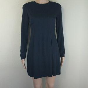 [A/X Armani Exchange] Black Long Sleeve Dress